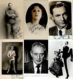 Autographs, artists we d´not know
