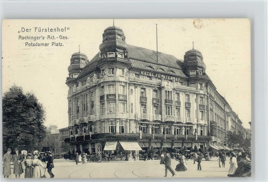 1000 Tiergarten Tiergarten Hotel Fürstenhof Potsdamer Platz