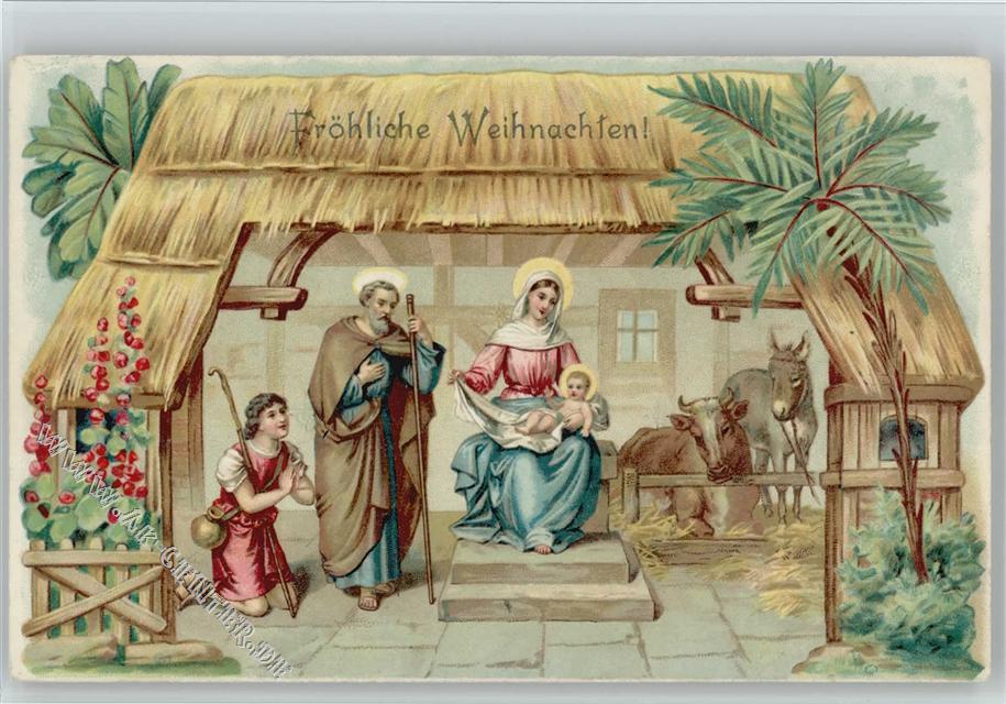 ... Weihnachten Christliches Krippenbild: Ansichtskarten-Center Onlineshop