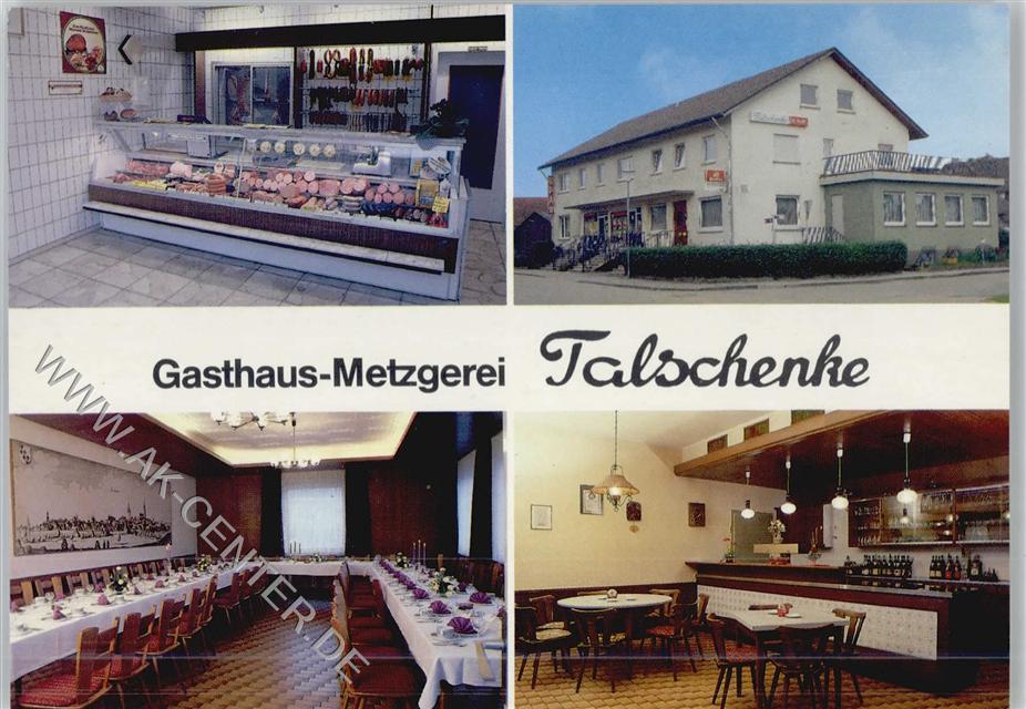 7519 Eppingen Gasthaus Metzgerei Talschenke Innenaufnahmen ...