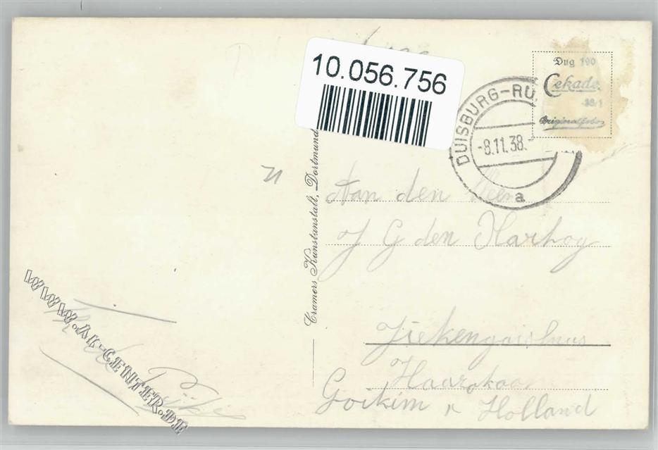 4100 Ruhrort Admiral-Scheer-Brücke Brückenschänke: Ansichtskarten ...