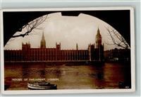 London 1934 Foto AK Motiv Großbritannien Politik - Houses of Parlament AK