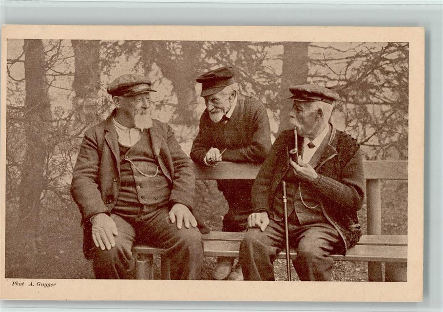 Ältere und drei Männer