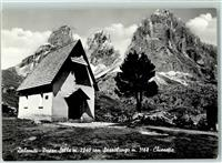 Sellajoch Kapelle Kirche Sellajoch / Passo Sella