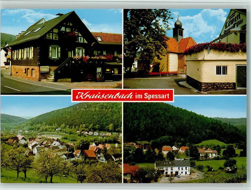 8751 Krausenbach Spessart - Räuber-Schänke: Ansichtskarten-Center ...
