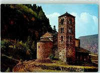 Canillo Valls DAndorra Romantic church of St. Joan de Caselas