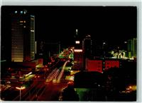 Harare Jameson Avenue at night facing east Simbabwe