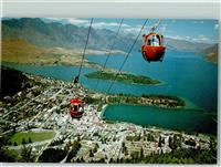 Queenstown Gondola Lift  Neuseeland