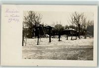 Focsani 1916 Privatfoto AK Winter