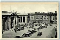 Dublin 1939 Omnibus,  Trinity College and Bank of Irland AK