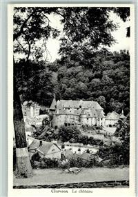 Clerf 1953 Le chateau  Clerf / Clervaux