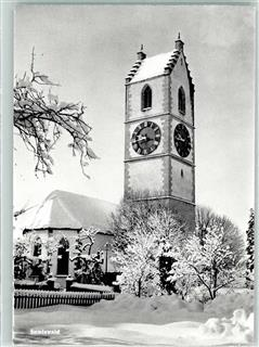 Sumiswald Kirche Winter