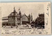 Budapest 1901 Lithographie West Bahnhof