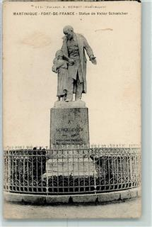 Fort-de-France Denkmal Victor Schoelcher Martinique