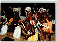 1989 Tracht Tänzer The Gambia Dance troupe