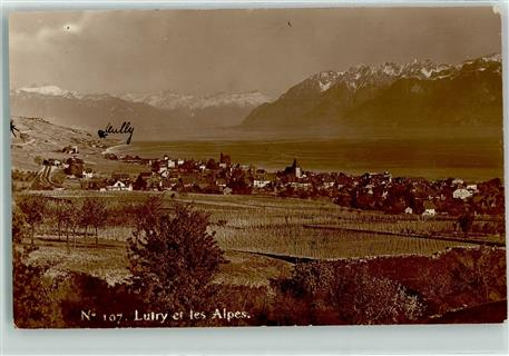 Lutry die Alpen