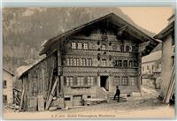 Montbovon Chalet Fribourgeois