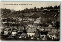 Le Locle Quartier de Bellevue et les Monts