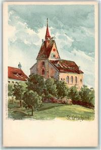 Bettingen 1900 Kirchli Chrischona Basel Stadt