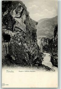 Airolo 1905 Gorges du Tessin