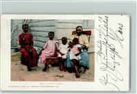 Schwarzafrikaner A Happy Family  1902 AK