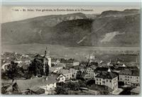 St-Imier 1909 La Combe Grede et le Chasseral Kirche