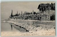 Versoix 1905 Bise Glaciale Winter Eis Schnee