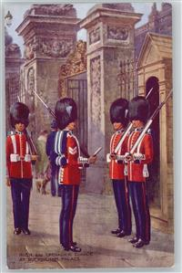 Deutsches Kaiserreich Irish and Grenadier Guards  Buckingham Palast