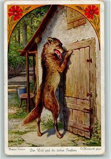 Märchen nr 2 der wolf und die sieben geißlein