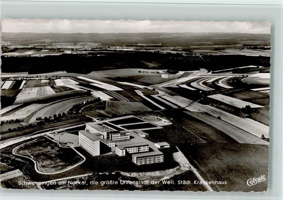 7730 Villingen-Schwenningen Krankenhaus Luftaufnahme ...