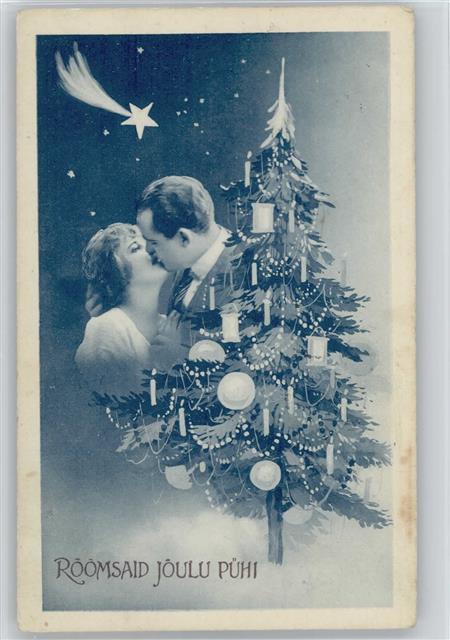 Weihnachten Roomsaid Joulu Pühi - Der Kuss am Weihnachtsbaum, Liebe ...