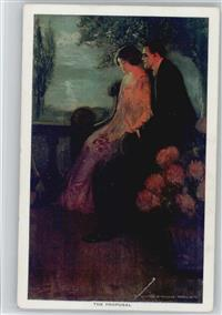 sign Alfred James Dewey - Liebe Poesei - The Proposal -