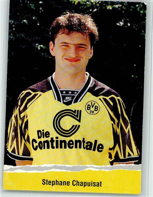 Fussball Stephane Chapuisat Borussia Dortmund Keine Ak