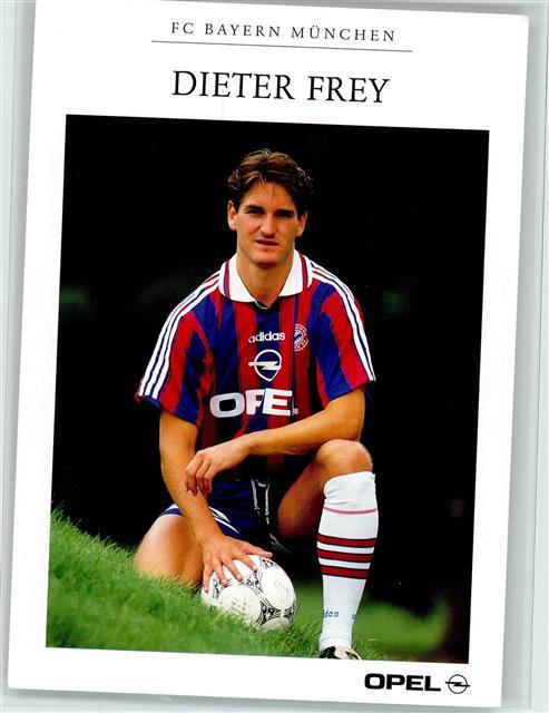 Fussball Dieter Frey Fc Bayern Mit Opel Tigra Werbung Keine Ak Ansichtskarten Center Onlineshop