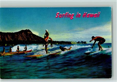 Wassersport Surfing in Hawaii  ca 1980 AK