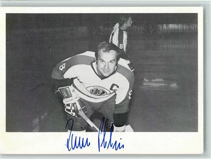 Eishockey Rainer Philipp VfL Bad Nauheim Nationalspieler Original Autogramm