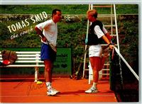 Tennis Thomas Smid  Coach mit Boris Becker und Original Autogramm