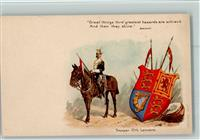 Motiv Großbritannien Wappen - Coat of Arms - Uniform , Trooper 17th Lancers - Series 20 AK