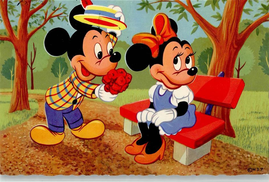 Walt Disney Figuren Micky Maus Ansichtskarten Center Onlineshop