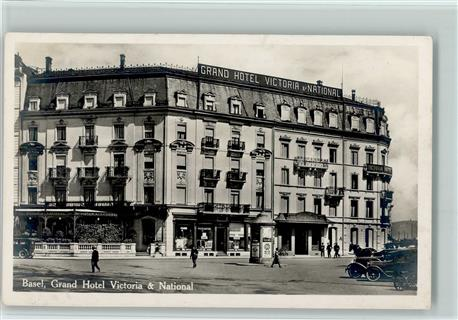 Basel Grand Hotel Victoria & National