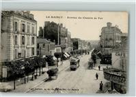 Le Raincy Avenue du Chemin de Fer - Straßenbahn, Cable Car