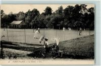 Le Touquet-Paris-Plage Le Tennis  Court mit Spielern AK