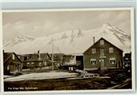 Svalbard 1934 Fra Kings Bay Winter Hüttenstempel