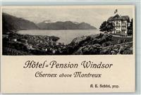 Chernex KEINE AK Hotel Pension Windsor