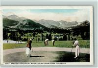 Golf - Rocky Mountain National Park, Colorado AK