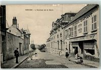 Vervins 1915 LAvenue de la Gare