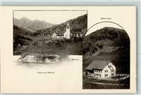 Beinwil SO 1899 Obere Post + Kloster  AK
