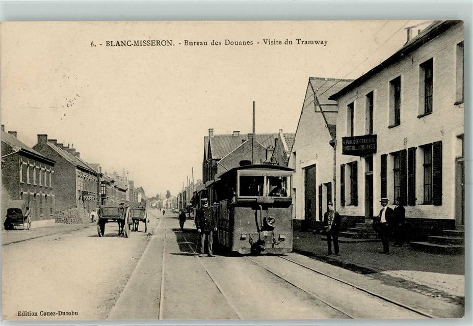 Grenze visite du tramway blanc misseron bureau des douanes