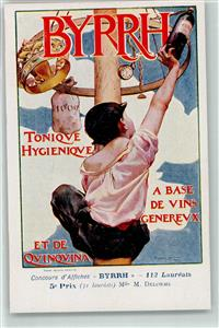 Tonique Werbung sign. M. Delorme  Collection BYRRH