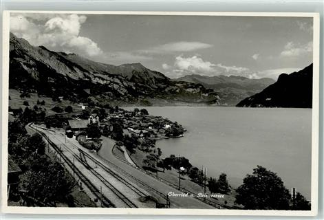 Oberried am Brienzersee Bahnhof Bahnlinie Brienzersee Bern BE